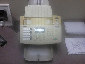 The Q103 Fax Machine