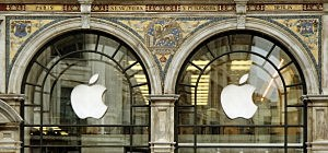 A general view of  the Apple store on Regent Street on August 25, 2011 in London, England.