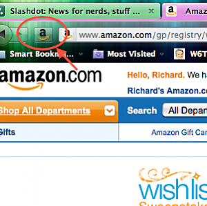 The Amazon Wishlist Button