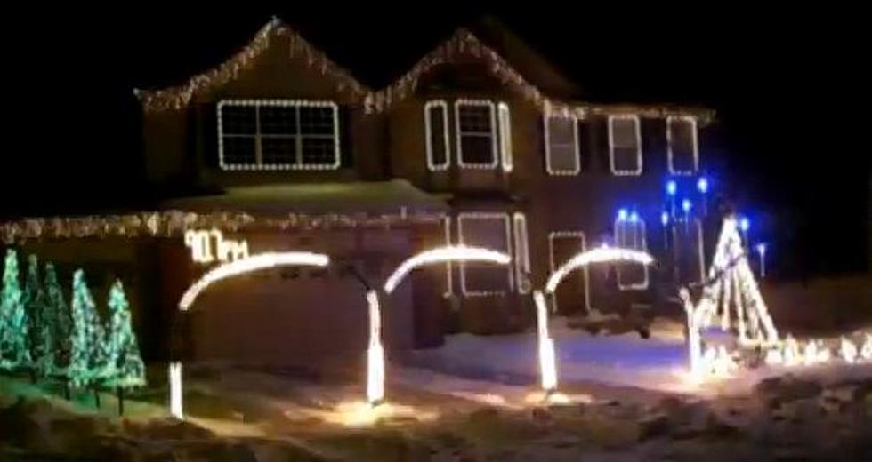 Metallica Christmas Light Display 2011 [VIDEO]