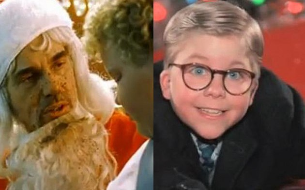 Bad Santa Vs. A Christmas Story – Q103 Cage Match