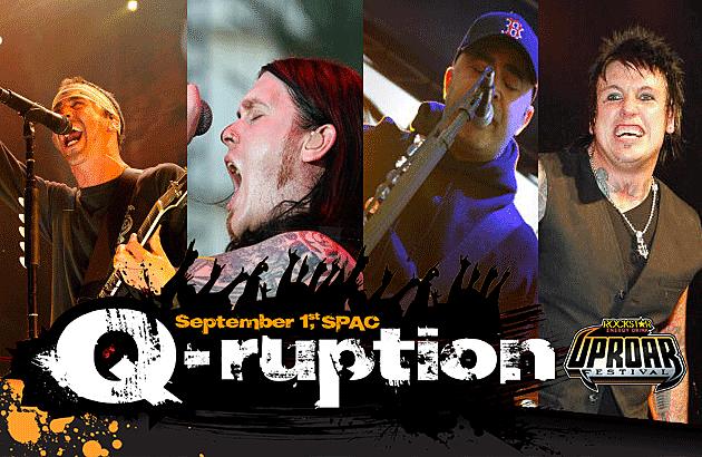 Q103 Albany's Q-Ruption 2012 Artists