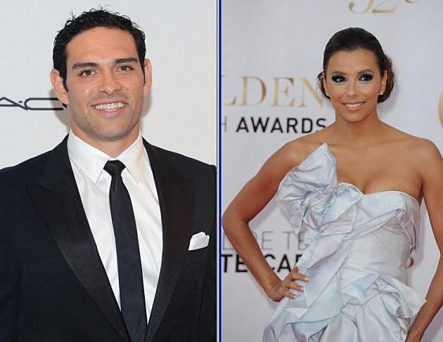 Mark Sanchez and Eva Longoria