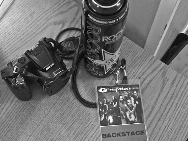 QRuption Backstage pass