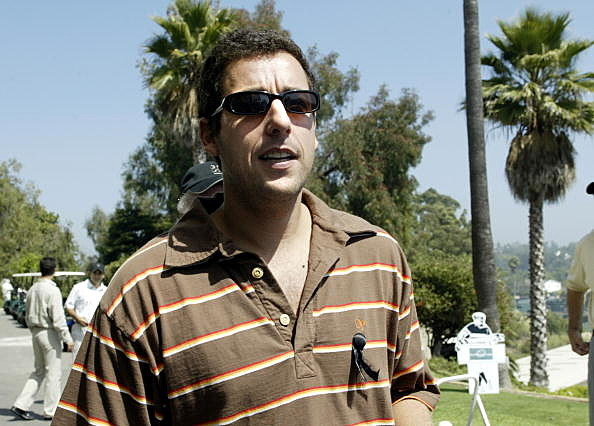 Adam Sandler in a crappy movie