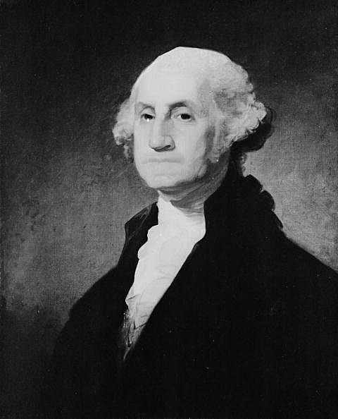 1st President of the United States George Washington