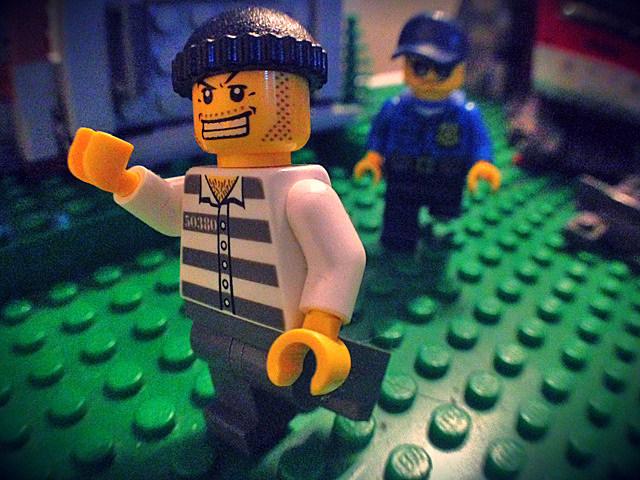 LEGO robber