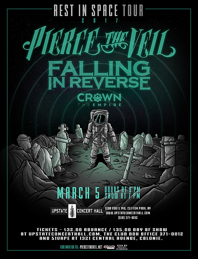 Pierce The Veil Rest In Space Tour March