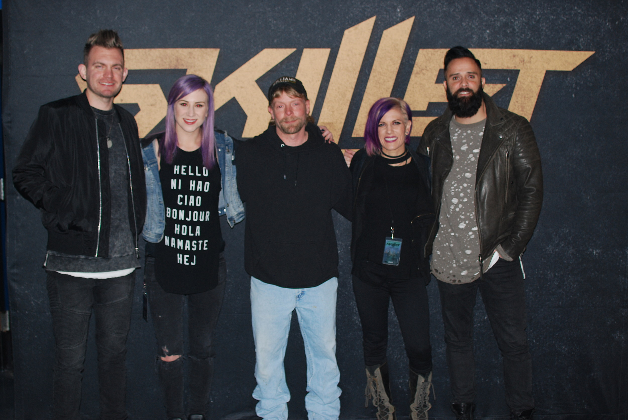 Skillet Meet And Greet Photos