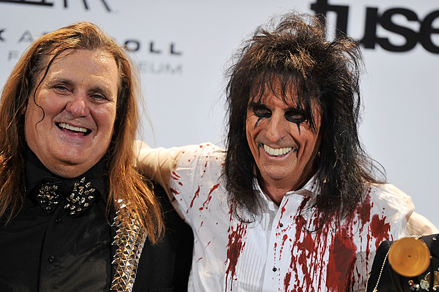 Michael Bruce with Alice Cooper