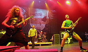 Killswitch Engage In Concert At The Palms In Las Vegas