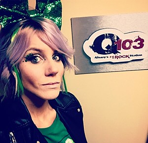 Rock With Rock Girl Tatiana and Q103 !