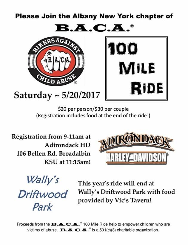 BACA 100 mile ride 2017