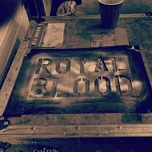 Backstage at Royal Blood.  Credit: Tatiana