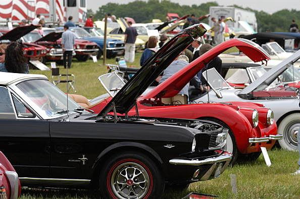 Rhinebeck Car Show June