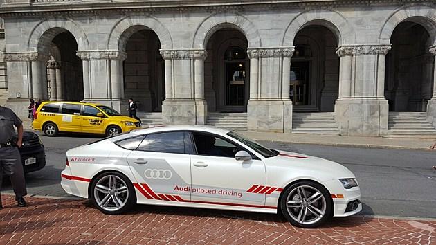 Audi Self Driving Car Albany Ny