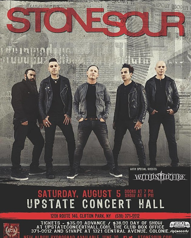 Stone Sour UCH flyer