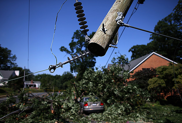 Overnight Storms Knock Out Power To Over A Million In DC Area